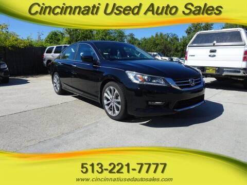 2014 Honda Accord for sale at Cincinnati Used Auto Sales in Cincinnati OH