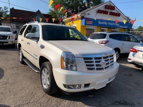 2011 Cadillac Escalade for sale at C & M Auto Sales in Detroit MI