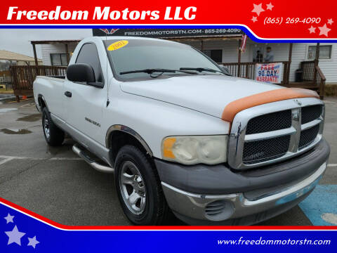 2002 Dodge Ram Pickup 1500 for sale at Freedom Motors LLC in Knoxville TN