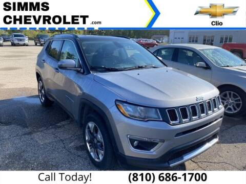 2019 Jeep Compass for sale at Aaron Adams @ Simms Chevrolet in Clio MI