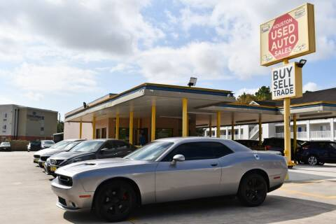 2015 Dodge Challenger for sale at Houston Used Auto Sales in Houston TX