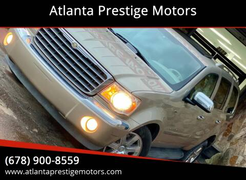 2008 Chrysler Aspen for sale at Atlanta Prestige Motors in Decatur GA