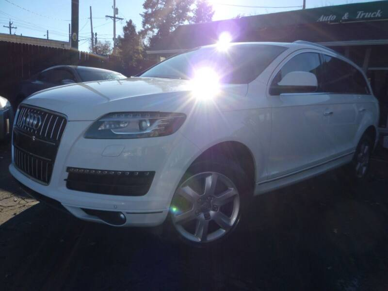 2012 Audi Q7 for sale at Sindibad Auto Sale, LLC in Englewood CO