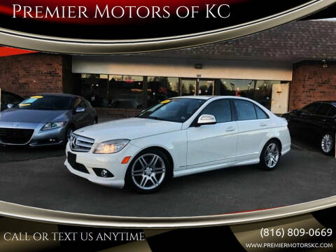 2008 Mercedes-Benz C-Class for sale at Premier Motors of KC in Kansas City MO