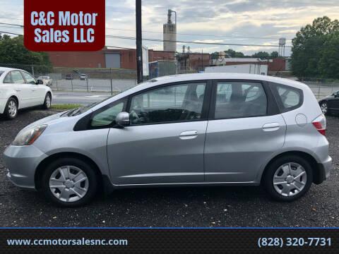 2013 Honda Fit for sale at C&C Motor Sales LLC in Hudson NC