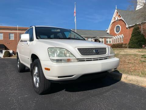 2002 Lexus RX 300 for sale at Automax of Eden in Eden NC