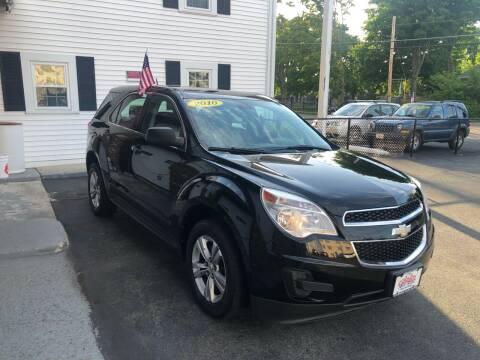 2010 Chevrolet Equinox for sale at 5 Corner Auto Sales Inc. in Brockton MA