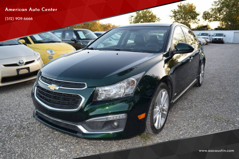 2015 Chevrolet Cruze for sale at American Auto Center in Austin TX