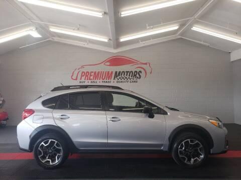2016 Subaru Crosstrek for sale at Premium Motors in Villa Park IL