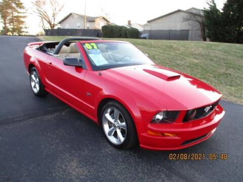 2007 Ford Mustang for sale at Euro Asian Cars in Knoxville TN