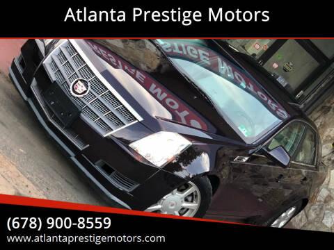 2008 Cadillac CTS for sale at Atlanta Prestige Motors in Decatur GA