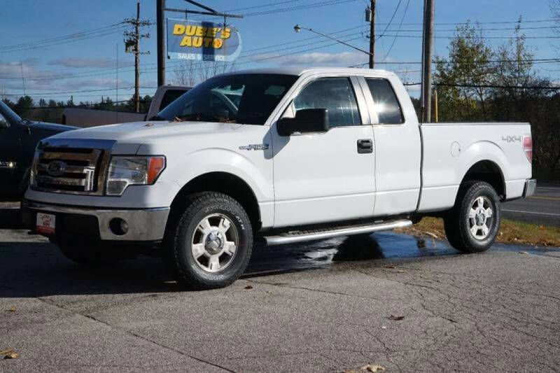 2012 Ford F-150 for sale at Dubes Auto Sales in Lewiston ME