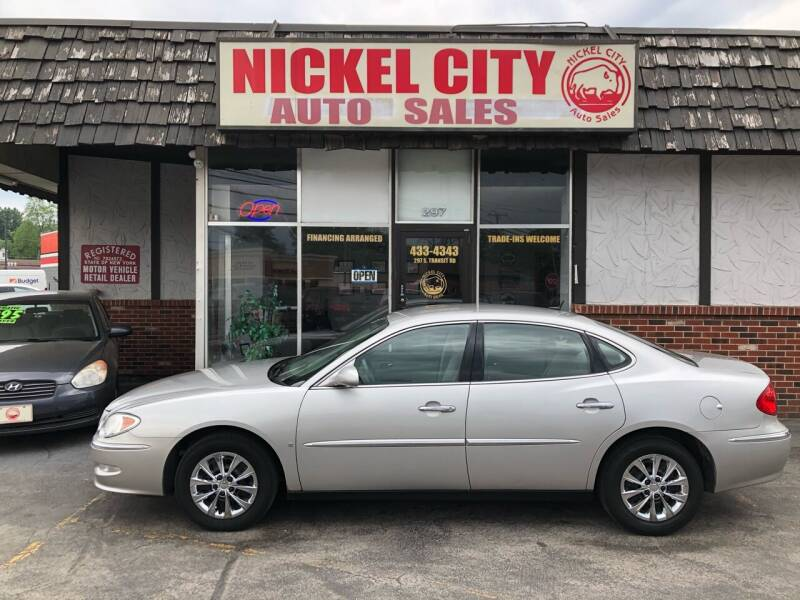 2008 Buick LaCrosse for sale at NICKEL CITY AUTO SALES in Lockport NY