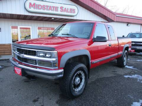 1998 Chevrolet C/K 2500 Series for sale at Midstate Sales in Foley MN