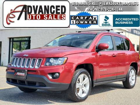 2014 Jeep Compass for sale at Advanced Auto Sales in Dracut MA