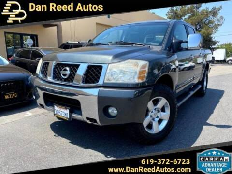 2006 Nissan Titan for sale at Dan Reed Autos in Escondido CA
