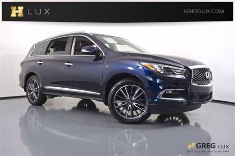 2020 Infiniti QX60 for sale at HGREG LUX EXCLUSIVE MOTORCARS in Pompano Beach FL