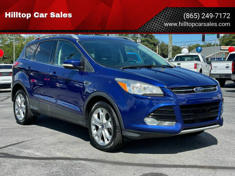 2015 Ford Escape for sale at Hilltop Car Sales in Knoxville TN