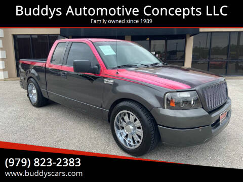 2004 Ford F-150 for sale at Buddys Automotive Concepts LLC in Bryan TX