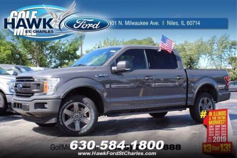 2020 Ford F-150 for sale at Hawk Ford of St. Charles in St Charles IL