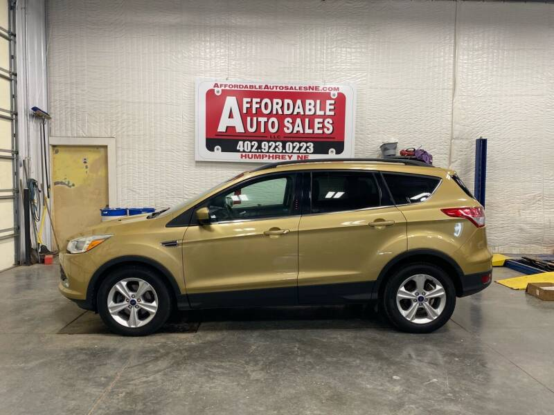 2014 Ford Escape for sale at Affordable Auto Sales in Humphrey NE