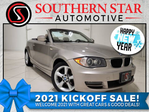 2010 BMW 1 Series for sale at Southern Star Automotive, Inc. in Duluth GA
