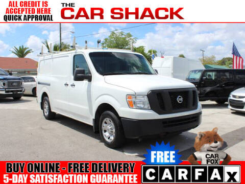 2015 Nissan NV Cargo for sale at The Car Shack in Hialeah FL