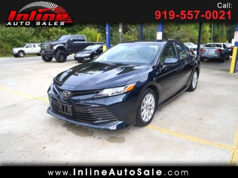 2018 Toyota Camry for sale at Inline Auto Sales in Fuquay Varina NC