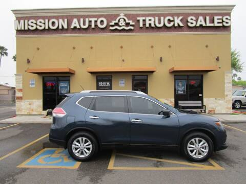 2016 Nissan Rogue for sale at Mission Auto & Truck Sales, Inc. in Mission TX