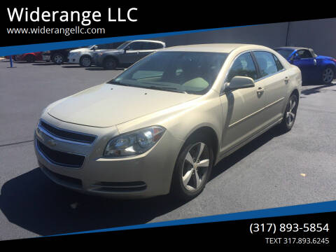 2011 Chevrolet Malibu for sale at Widerange LLC in Greenwood IN