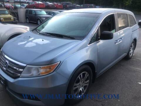 2011 Honda Odyssey for sale at J & M Automotive in Naugatuck CT