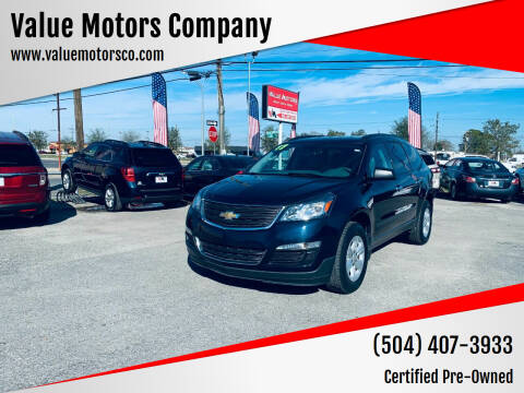 2017 Chevrolet Traverse for sale at Value Motors Company in Marrero LA