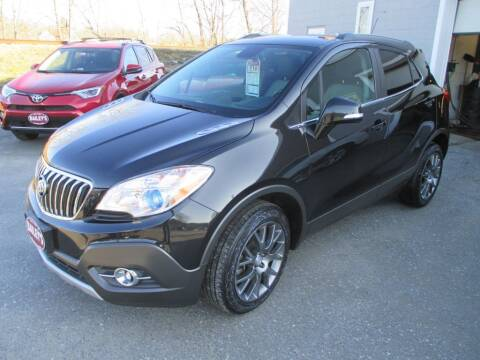 2016 Buick Encore for sale at Percy Bailey Auto Sales Inc in Gardiner ME
