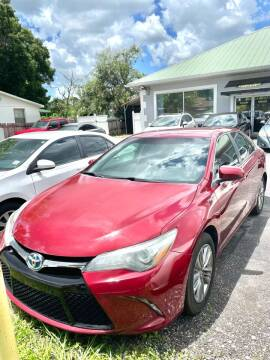 2015 Toyota Camry Hybrid for sale at Sheldon Motors in Tampa FL