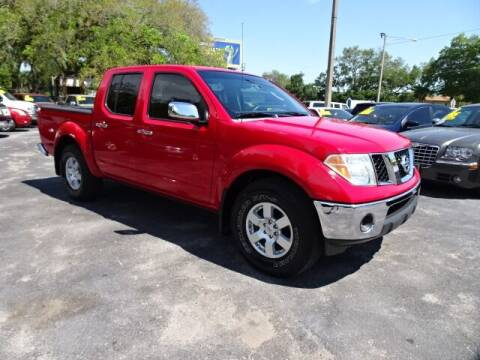 2007 Nissan Frontier for sale at DONNY MILLS AUTO SALES in Largo FL