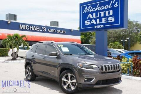 2019 Jeep Cherokee for sale at Michael's Auto Sales Corp in Hollywood FL
