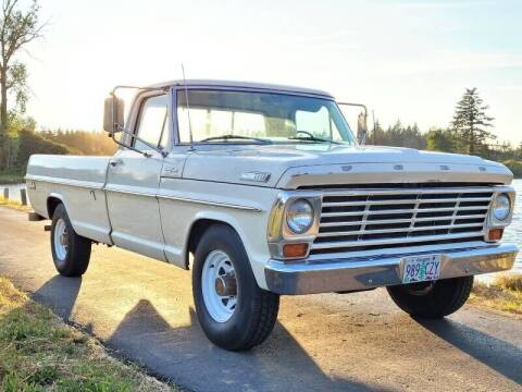 1967 Ford F-250 for sale at CLEAR CHOICE AUTOMOTIVE in Milwaukie OR