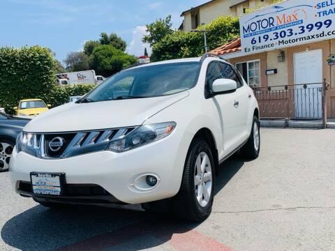 2009 Nissan Murano for sale at MotorMax in Lemon Grove CA