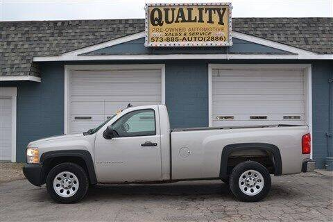 2007 Chevrolet Silverado 1500 Classic for sale at Quality Pre-Owned Automotive in Cuba MO