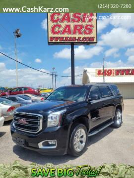 2015 GMC Yukon for sale at www.CashKarz.com in Dallas TX