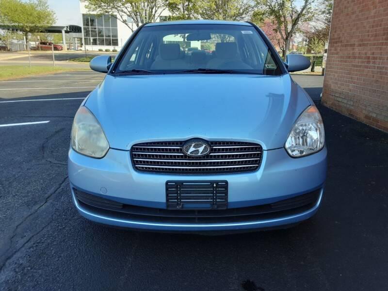 2008 Hyundai Accent for sale at Fredericksburg Auto Finance Inc. in Fredericksburg VA