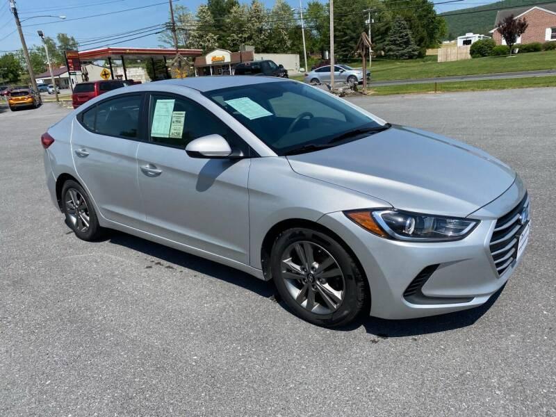 2018 Hyundai Elantra for sale at Charlie Pentzs Auto Sales in Waynesboro PA