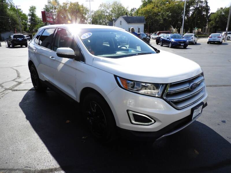 2015 Ford Edge for sale at Grant Park Auto Sales in Rockford IL