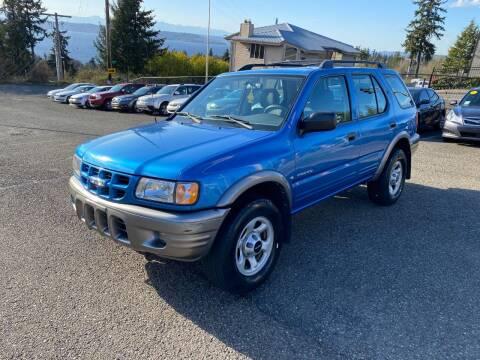 2001 Isuzu Rodeo for sale at KARMA AUTO SALES in Federal Way WA