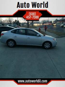 2008 Hyundai Elantra for sale at Auto World in Carbondale IL