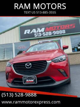 2018 Mazda CX-3 for sale at RAM MOTORS in Cincinnati OH