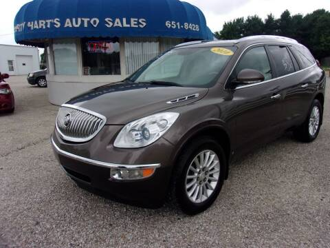 2010 Buick Enclave for sale at Marty Hart's Auto Sales in Sturgis MI