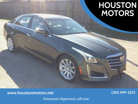 2015 Cadillac CTS for sale at HOUSTON MOTORS in Stafford TX