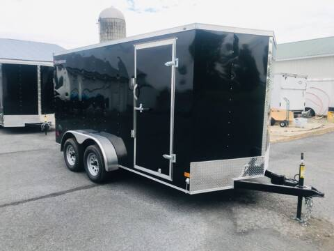 2021 Wells Cargo 7x14 V-Nose Tandem Axle for sale at Forkey Auto & Trailer Sales in La Fargeville NY