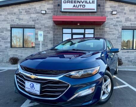 2019 Chevrolet Malibu for sale at GREENVILLE AUTO in Greenville WI